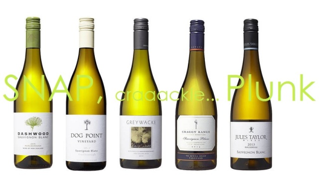 New Zealand Sauvignon Blanc Line-up